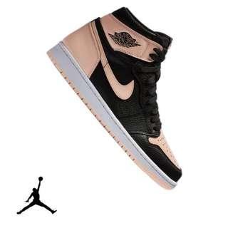"Authentic Nike Air Jordan 1 Retro High OG ""Crimson Tint"""