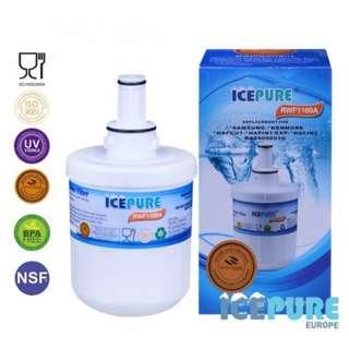 IcePure RFC2900A RFC1100A Fridge Water Filter Compatible for Samsung DA29-00003F