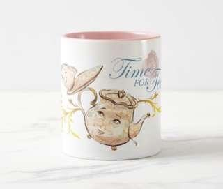 🚚 Beauty and the Beast Mrs Potts and Chip Two Tone Mug