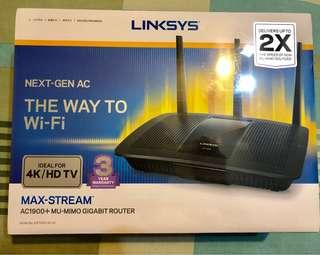 Linksys Router AC1900+ MU-MIMO GIGABIT ROUTER