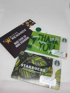 [14% Off] S$10 Stored Value Starbucks Gift Card (Used at Starbucks Store in Singapore Only) (2 designs)