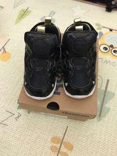 Reebok Pump Fury 黑色 波鞋仔 22 號 baby boy kids
