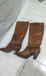 Boots kulit nine West