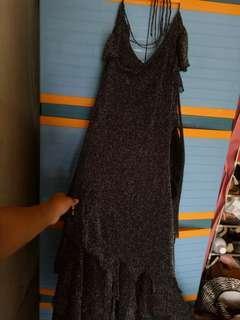 Long Dress/ Dress Penyanyi / Mengkilap /Bahan elastis