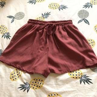 磚紅色短褲❤️