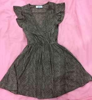Leopard print dress 👗