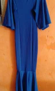 Baju penyanyi / long dress / sexy dress