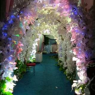 Menyewakan Tenda Sepaket / decoration / pelaminan