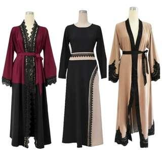 ABAYA SPECIAL SALE: 3FOR100 PREORDER