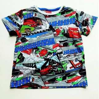 現貨包郵~ 3T-6T Disney McQueen 反斗車王印花 T-shirt  #kids300