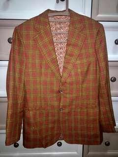 Checkered Brown Coat