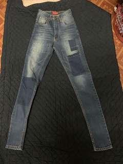 Skinny Patches Jeans