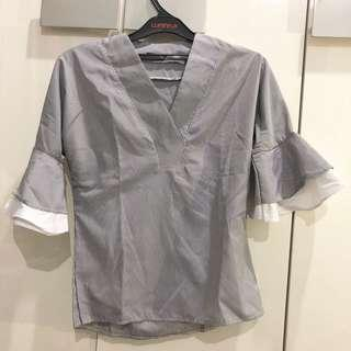 Top frill sleeve