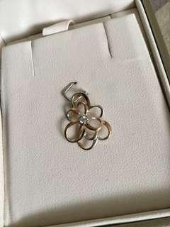 Citigems rosella diamond pendant with certificate