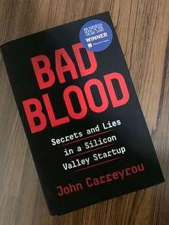 🚚 Bad blood (hardcover)