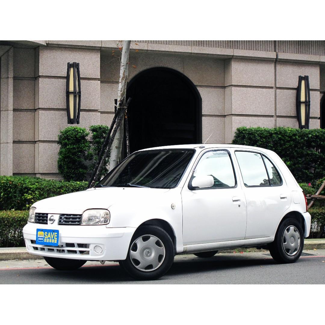 07年MARCH 一手女用車僅跑5萬公里 全程原廠保養 原版件無事故泡水 價格甜