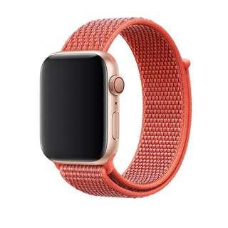 Nike Sport Loop Band Strap for Apple Watch - Nectarine