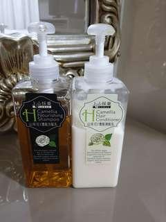 🚚 Camellia shampoo and conditioner