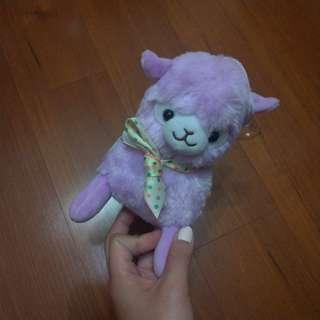 (全新)薰衣草紫色草尼馬吊飾娃娃