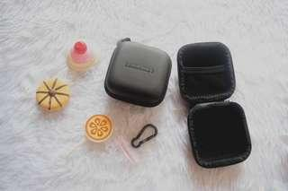 Coin purse/headset container