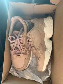 Authentic Adidas Falcon in Salmon Pink