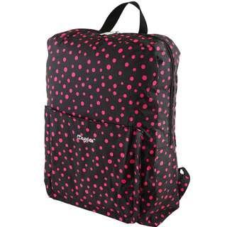 Preloved Authentic Bbaggies Black Pink Dot Backpack