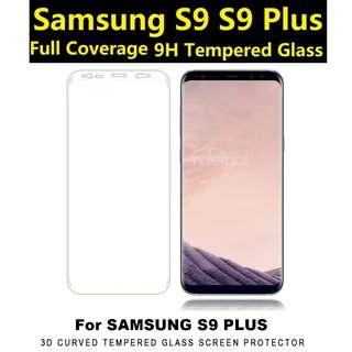 🚚 BN Samsung Galaxy S9 Plus Full Coverage Tempered Glass