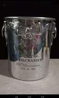 champagne bucket aluminum moet and chandon 1993