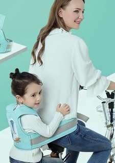 🚚 機車 自行車 腳踏車專用兒童安全帶/背巾