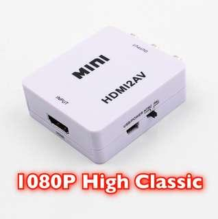 HD Video Converter AV to HDMI Full HD 1080p