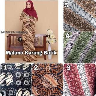 Malano Kurung Batik