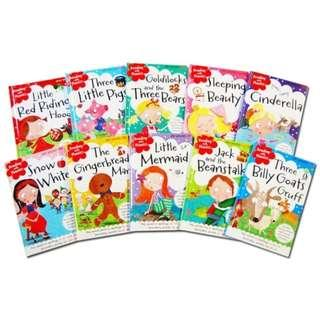 10 Phonic Children Books with CD