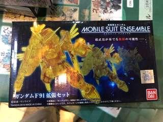 日版 Bandai 魂 限定 MS Gundam 高達 Ensemble Gundam F91 Expansion Set