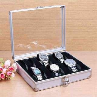 10/12 slot Aluminium Watch Case