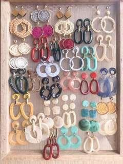 Acrylic Earrings