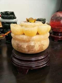 🚚 黄玉聚宝盆
