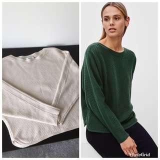 Aritzia babaton Avery sweater sz s