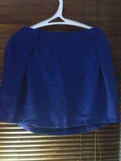 Rok Biru (rok celana)