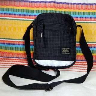 Original Porter Sling Bag Made in Japan With Reflector