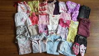 30 Pieces Girls Clothings Bundle F