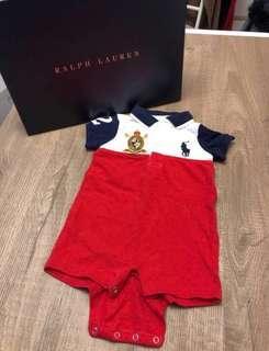 (99% new) 0-3 months Ralph Lauren baby jumpsuit