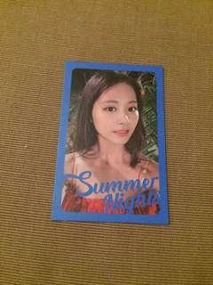 Twice tzuyu summer nights