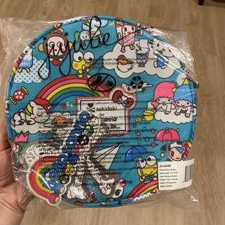 🚚 BNWT Jujube Be Bop Hello Sanrio Mini Purse - Rainbow Dreams