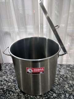 Stainless steel pot Zebra 36