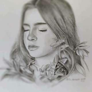 🚚 Pencil portrait drawing #birthday #anniversary #fathersday