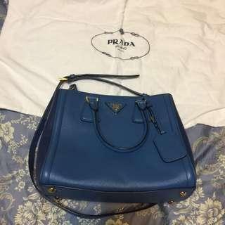 🚚 百貨專櫃購入歐洲精品Prada 側背包