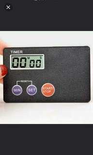 Timer/kiraan masa dan saat