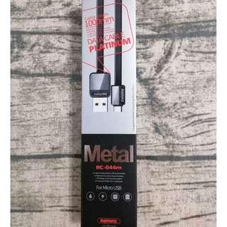 Remax RC-044m Platinum Metal MICRO USB