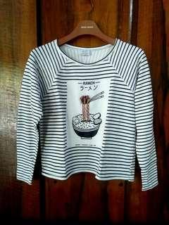 Zara Trafaluc Ramen Shirt