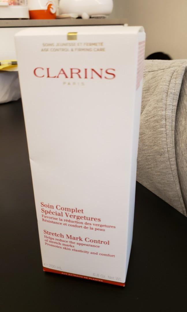 100%全新Clarins Stretch Mark Control抗紋身體乳霜